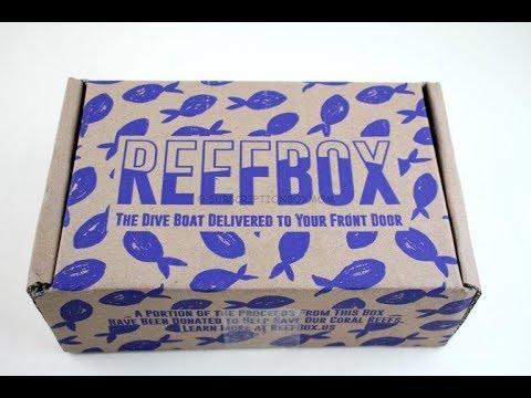 ReefBox August 2018 Scuba Diving Subscription Box Unboxing + Coupon