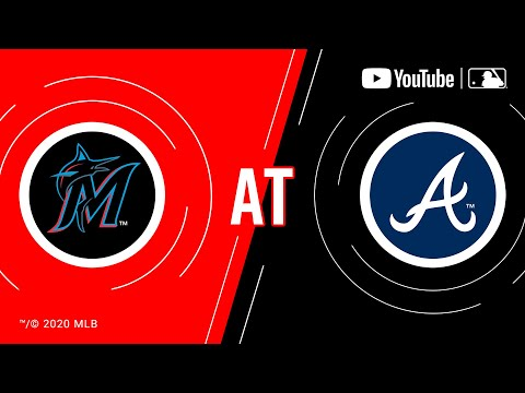 Marlins at Braves | MLB Game of the Week Live on YouTube