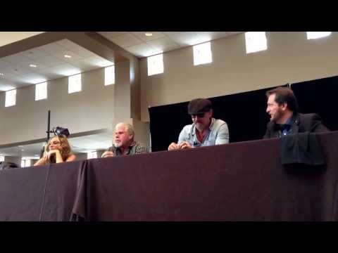 A bit of the Sons of Anarchy panel from the Mad Monster Party Gras.