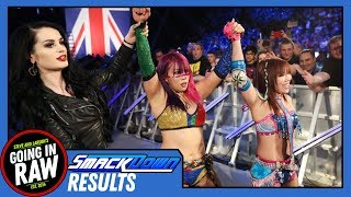 WWE Smackdown Full Results & Review | The Kabuki Warriors Debut | Going In Raw Podcast