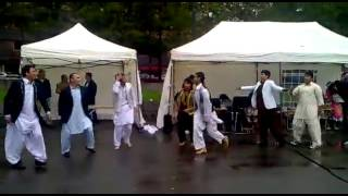 Afghan boys Attan at Norway in private party