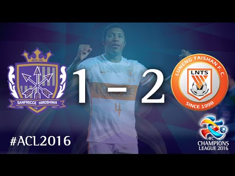 SANFRECCE HIROSHIMA vs SHANDONG LUNENG: AFC Champions League 2016 (Group Stage)