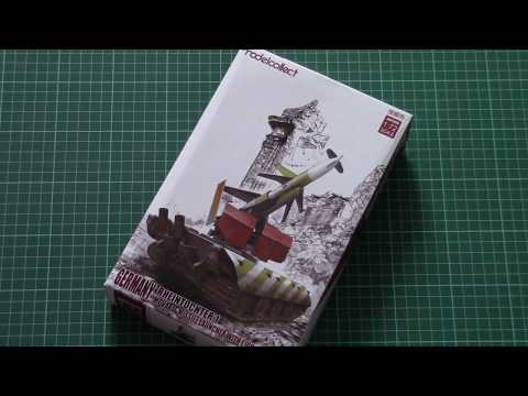 Modelcollect 1/72 Rheintochter 1 with E100...