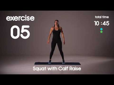 20 min Full Body HIIT Workout Beginner Strength 40s/40s Intervals