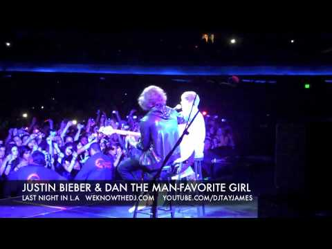 JUSTIN BIEBER & DAN THE MAN- FAVORITE GIRL-LA  LA LAND