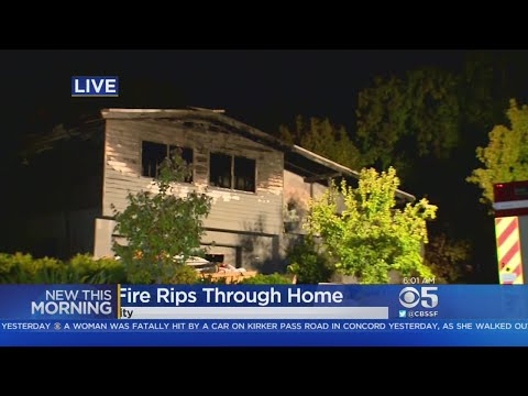 REDWOOD COUNTY FIRE: Early morning fire destroys Redwood City home