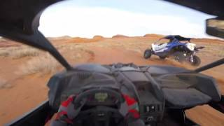 Benny Brappo out Testing The New Can Am Maverick X3 RS in the desert for a day!