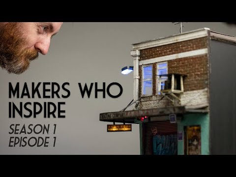 Joshua Smith - Miniature Artist | MAKERS WHO INSPIRE
