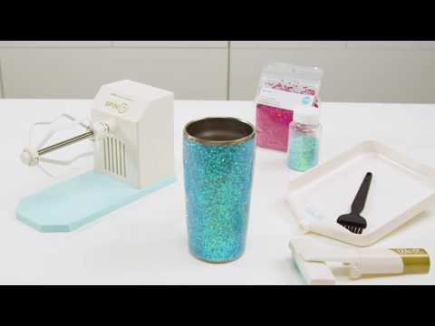 How to Make a Glitter Tumbler with the Spin It by We R Memory Keepers