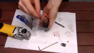 how to clean a dewalt 898 14 gauge nibbler
