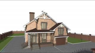 Проект объёмного одноэтажного  жилого дома с мансардой и  гаражом  D-060-ТП(, 2016-10-24T09:04:09.000Z)