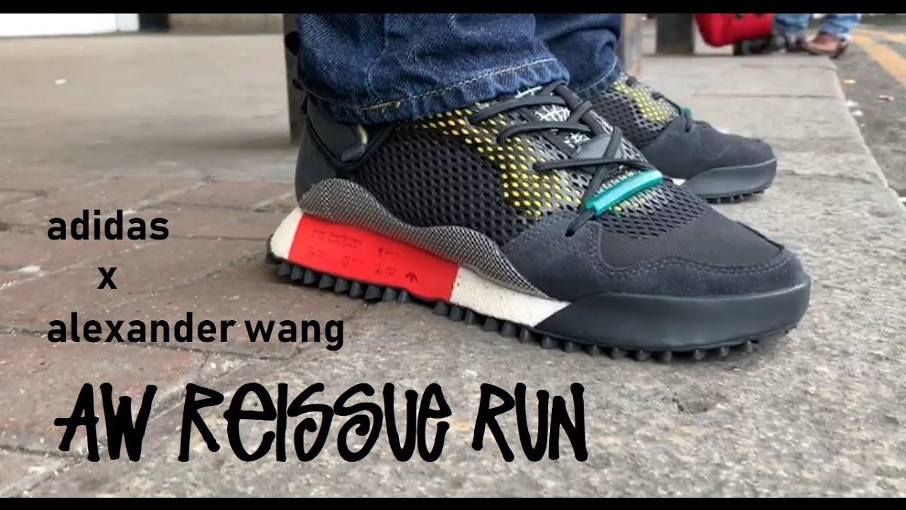 Lima Oceano pájaro  Adidas x Alexander Wang Aw Reissue Run   On-feet - YouTube