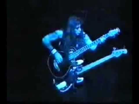 Steve Harris Best Bass Solo Live  Iron Maiden