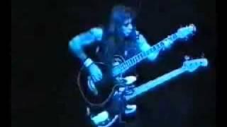 Steve Harris Best Bass Solo Live - Iron Maiden