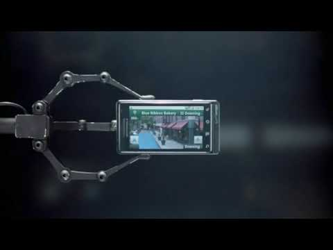 Verizon Droid ad: Homing Device