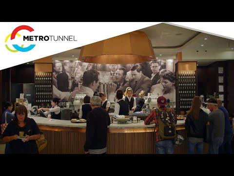 Brunetti Cafe on Flinders Lane
