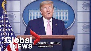 Coronavirus outbreak: Donald Trump says U.S. deploying over 3,000 military to New York | FULL