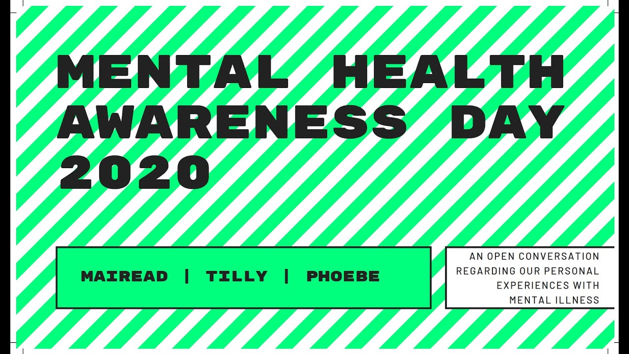 Mental Health Awareness Day- OCD, BPD, Anxiety and Depression