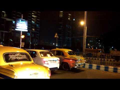 Know Kolkata Roads : Salt Lake Stadium Yuba Bharati Krirangan to Ruby Gold Park at Night