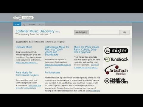 Gemafreie kostenlose Musik für Eure Videos | ccmixter.org , deutsch