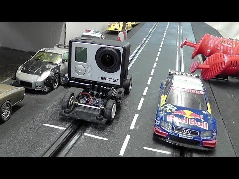 KAMERA SLOTCAR für Actioncam GoPro Hero 3+ bauen – Carrera Bahn – Do it yourself No. 28