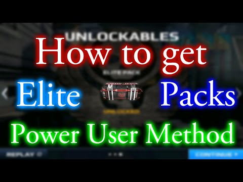 [Patched/Won't Work Anymore] How to get Elite Packs in MC5 | Power User Method