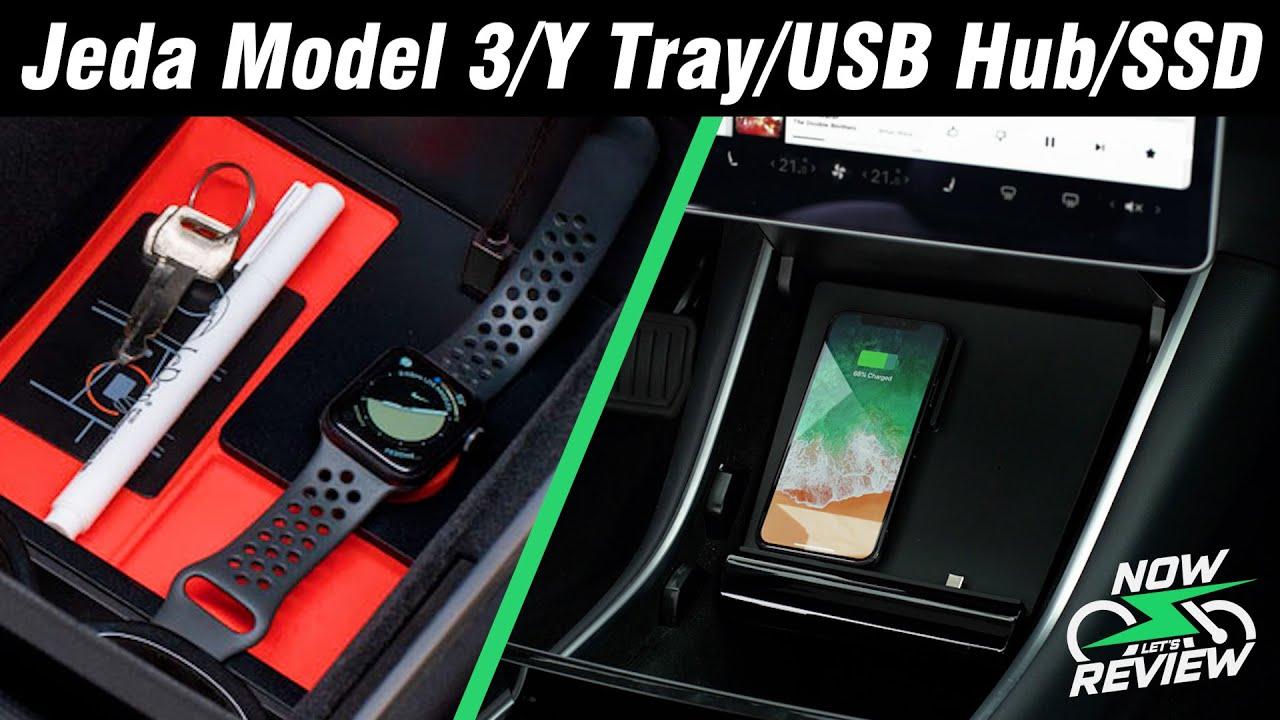 Download Jeda Model 3/Y Tray/USB Hub/SSD review
