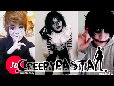 Creepypasta Musical.ly Cosplay Compilation 2017