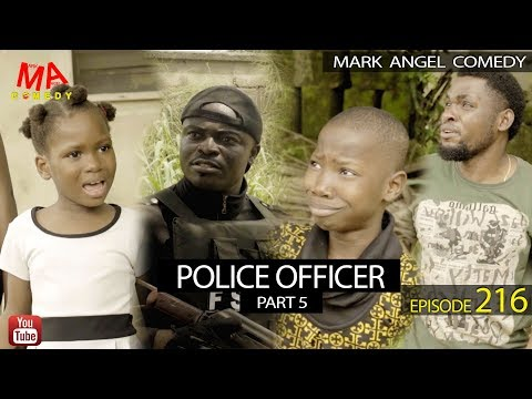 POLICE OFFICER Part 5 (Mark Angel Comedy) (Episode 216)