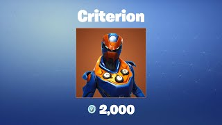 Criterion | Fortnite Outfit/Skin
