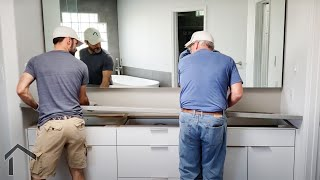 Building Vanity Tops From Solid Surface