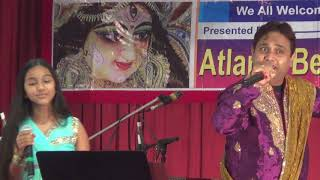 ABF Durga Puja-Atlanta 2018- Sudeep & Senria Nath's Hindi Medley