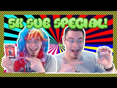 5K SUB SPECIAL! - ROBUX GIVEAWAY, Channel Evals, Roblox, Animal Jam - YouTube Gaming Livestream!