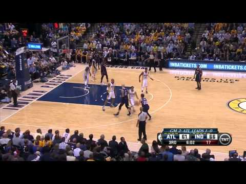 Atlanta Hawks vs Indiana Pacers Game 2 | April 22, 2014 | NBA Playoffs 2014