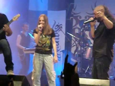Saurom feat Alba Rico , La Noche de Halloween (Live Madrid, Sala Caracol,  08/06/2013)