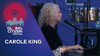 Carole King performs You've G๐t A Friend | Global Citizen Festival NYC 2019