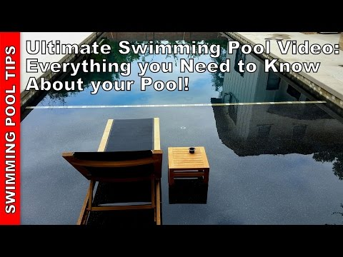 Pool Water Level, proper water level - YouTube