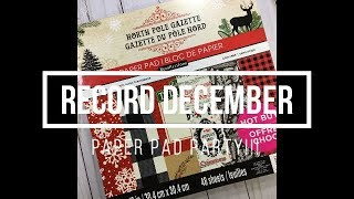 Paper Pad Party // Record December (#7)