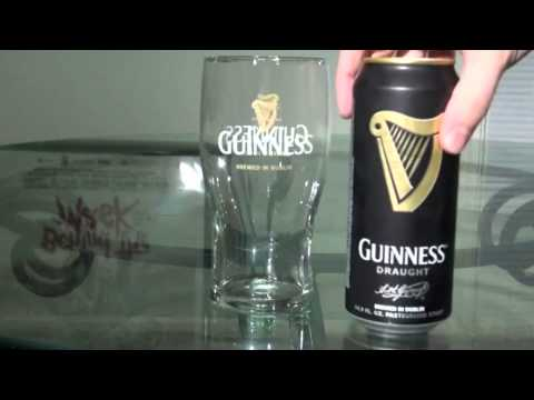 How to Properly Pour a Can of Guinness