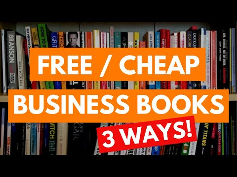 🤑 3 Ways To Get FREE OR CHEAP Business Books   Roseanna Sunley Business Book Reviews