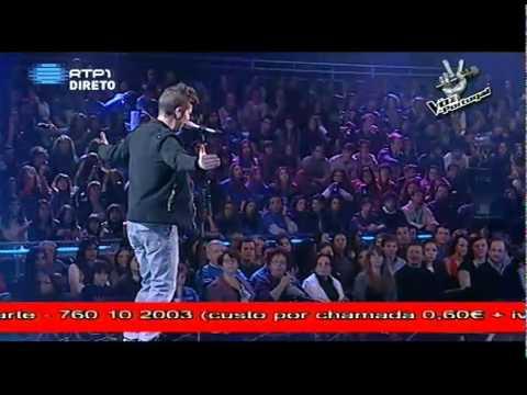 5ª Gala A Voz de Portugal -- Vasco Duarte --