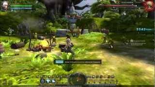 Dragon Nest - EU Beta Gameplay - Krieger LvL1 - Quick Fight & LvL-Up - Deutsch