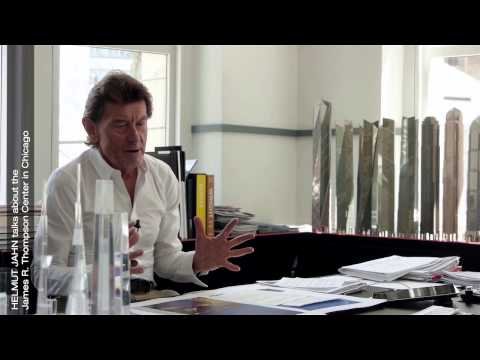 Helmut Jahn talks about the James R. Thompson Center in Chicago