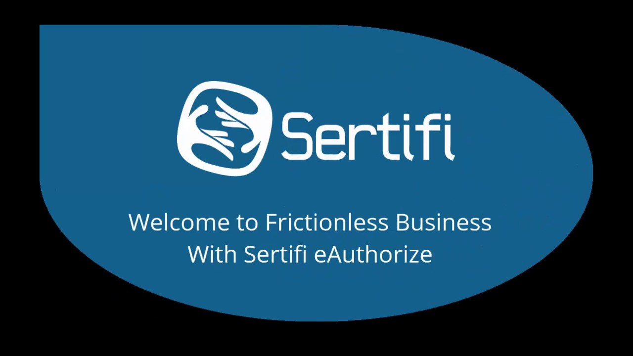 Sertifi eAuthorize Overview