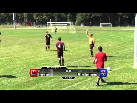 Newmarket High School Varsity Boys Soccer Homecoming Game 2015