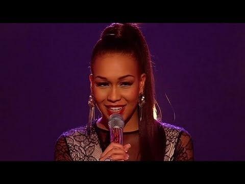 Rebecca Ferguson sings Teardrops  The X Factor   itvcomxfactor