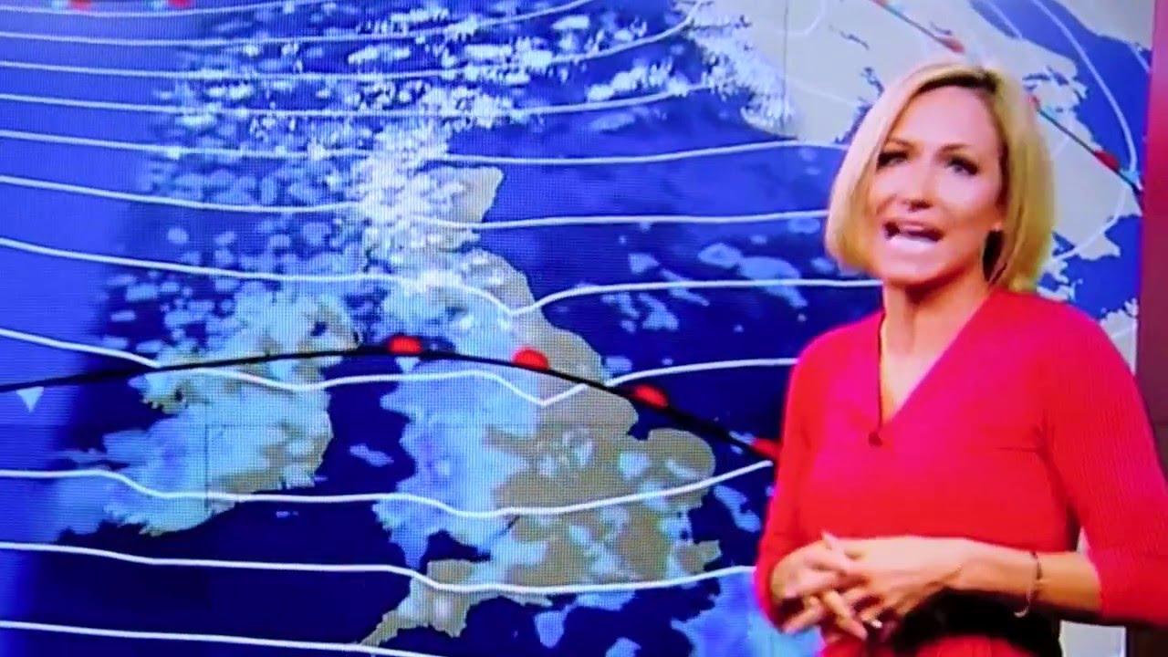 RACHEL MACKLEY FAINTS ON LIVE TV BBC SOUTH EAST TODAY WEATHER GIRL  FORECASTER ON AIR
