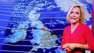 RACHEL MACKLEY FAINTS ON LIVE TV  BBC SOUTH EAST TODAY WEATHER GIRL  FORECASTER ON AIR