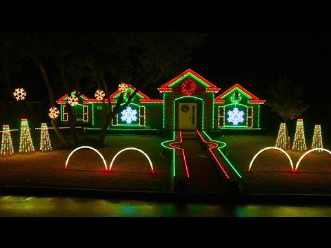 2014 Johnson Christmas Light Show Preview