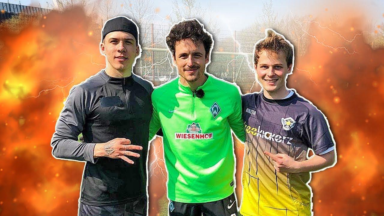 freekickerz vs Bundesliga Pro Football Player (BVB)